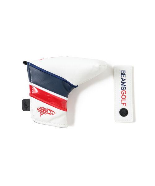 購入 ゴルフ BEAMS GOLF パターカバー 買い物 FIDROCK式 ピン型