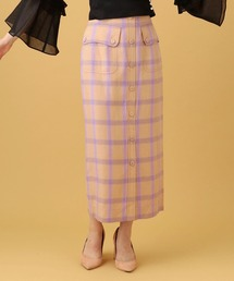 スカート チェックタイトスカート ZOZOTOWN PayPayモール店