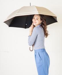 傘 完全遮光晴雨兼用 makez.マケズ ジャンプ傘 2本ライン ZOZOTOWN PayPayモール店