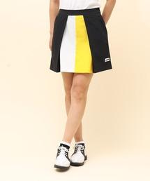 スカート 【撥水】【接触冷感】ストレッチカラーブロックスカート|ZOZOTOWN PayPayモール店