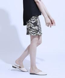 スカート カモフラージュストレッチユーズドライクタイトスカート ZOZOTOWN PayPayモール店
