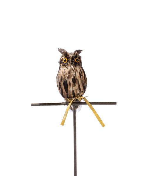 フィギュア ARTIFICIAL BIRDS Owl Brown お買得 109 S 宅配便送料無料