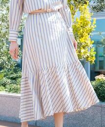 スカート *eclat掲載*NALYAストライプスカート ZOZOTOWN PayPayモール店