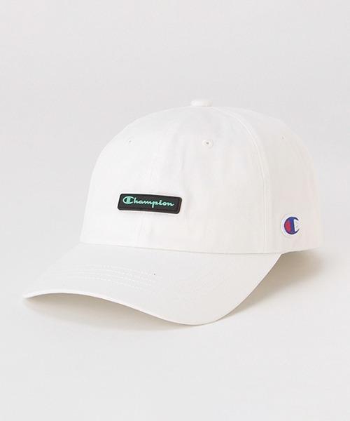 帽子 キャップ 店内限界値引き中&セルフラッピング無料 シリコンロゴローキャップ Championコラボ 税込