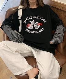 tシャツ Tシャツ レイヤードスタイル ボーダートップス|ZOZOTOWN PayPayモール店