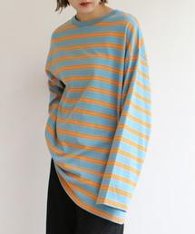 tシャツ Tシャツ 太マルチボーダーロンT ZOZOTOWN PayPayモール店