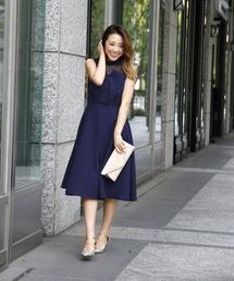 ドレス ビスチェ風セミロングワンピース ZOZOTOWN PayPayモール店
