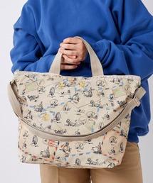 """トートバッグ バッグ LeSportsac """"Disney Classic Pooh Collection""""DELUXE EASY CARRY TOT ZOZOTOWN PayPayモール店"""