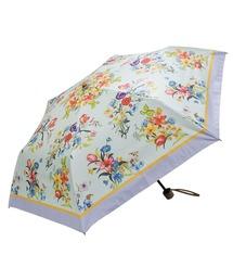 折りたたみ傘 完全遮光晴雨兼用 折りたたみ傘 ノーブルボタニカル柄 ZOZOTOWN PayPayモール店