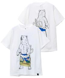 tシャツ Tシャツ USA/C 天竺 相撲クマSP SS TEE|ZOZOTOWN PayPayモール店