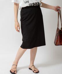 スカート リネンライクジャージタイトスカート|ZOZOTOWN PayPayモール店
