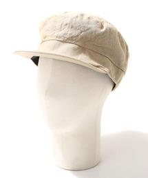 帽子 キャップ KIJIMA TAKAYUKI / キジマタカユキ:linen Marin Cap:W-171260[ANN]|ZOZOTOWN PayPayモール店