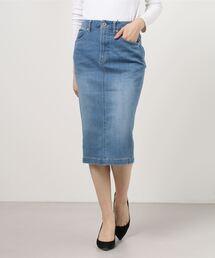 スカート デニム SQUALL PROOF デニムタイトスカート|ZOZOTOWN PayPayモール店