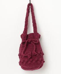バッグ ハンドバッグ And A 手編み ニット巾着バッグ|ZOZOTOWN PayPayモール店