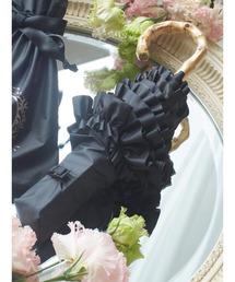 傘 遮光&UV CUT フリル折りたたみ傘|ZOZOTOWN PayPayモール店