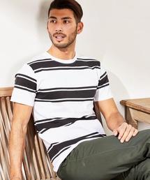 tシャツ Tシャツ ボーダー 半袖 Tシャツ / クルーネック Vネック|ZOZOTOWN PayPayモール店