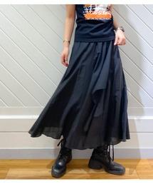 スカート 【MoNiLE/モニーレ】コットンフレアースカート|ZOZOTOWN PayPayモール店