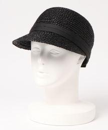 帽子 キャップ カカトゥ kakatoo / ラフィアブレードキャップ ZOZOTOWN PayPayモール店