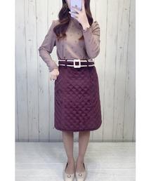 スカート ベルト付きキルティングスカート|ZOZOTOWN PayPayモール店