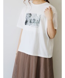 tシャツ Tシャツ モノクロフォトTシャツ(town) ZOZOTOWN PayPayモール店