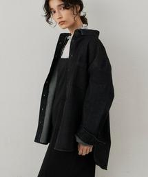 ジャケット Gジャン カラーケミカルデニムシャツジャケット/AUNT MARIE'S|ZOZOTOWN PayPayモール店