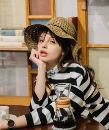 帽子 ハット カカトゥ kakatoo / ラフィア透かし編みハット|ZOZOTOWN PayPayモール店