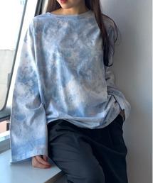 tシャツ Tシャツ 【PUBLUX/パブリュクス】ムラ染めタイダイロングスリーブTシャツ|ZOZOTOWN PayPayモール店