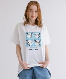 tシャツ Tシャツ BRONYA&LOMI コラボ猫プリントTシャツ ZOZOTOWN PayPayモール店