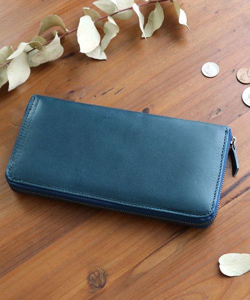 財布 [feee フィー] ラウンドファスナー長財布 本革 日本製 メンズ レディース FE-3001