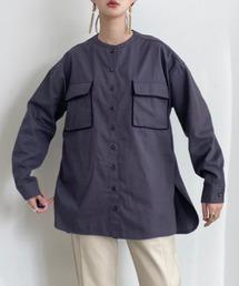 シャツ ブラウス パイピングダブルポケットシャツ|ZOZOTOWN PayPayモール店