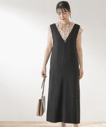 ワンピース F by ROSSO ロングジャンパースカート|ZOZOTOWN PayPayモール店