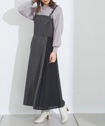 ワンピース ジャンパースカート サイドプリーツジャンスカ|ZOZOTOWN PayPayモール店