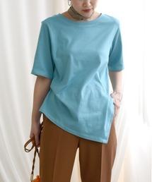 tシャツ Tシャツ 【Made in Japan】 ステッチデザインアシメカットトップス|ZOZOTOWN PayPayモール店