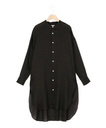 シャツ ブラウス 【LE GLAZIK】〈別注〉ラミーバンドカラーロングシャツ RAM WOMEN ZOZOTOWN PayPayモール店