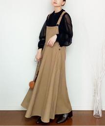 ワンピース ジャンパースカート フレアーライン ジャンパースカート|ZOZOTOWN PayPayモール店