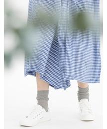 靴下 リネンリブソックス|ZOZOTOWN PayPayモール店