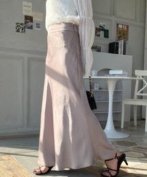 スカート 【2021S/S New Arrival】サテンマーメイドスカート|ZOZOTOWN PayPayモール店