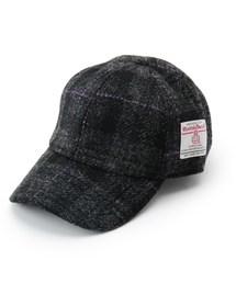 帽子 キャップ Harris Tweed ハリス ツィード CAP ローキャップ|ZOZOTOWN PayPayモール店