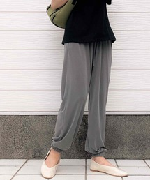 パンツ 裾ギャザーリラックスパンツ|ZOZOTOWN PayPayモール店
