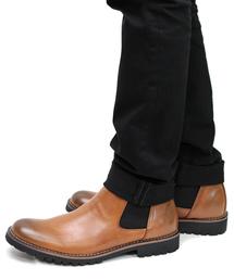 ブーツ 履いた時のシルエットがきれいなサイドゴアブーツ|ZOZOTOWN PayPayモール店