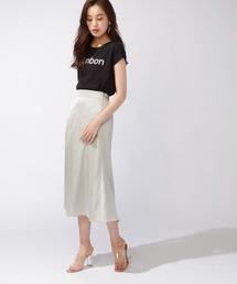 スカート サテンフレアスカート|ZOZOTOWN PayPayモール店