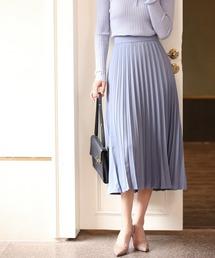 スカート バックゴムロングプリーツスカート|ZOZOTOWN PayPayモール店