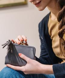 財布 ペルケ perche / アクリル玉がま口2つ折り財布|ZOZOTOWN PayPayモール店