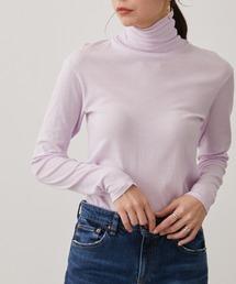 tシャツ Tシャツ 【Smile Cotton】タートルネックプルオーバー|ZOZOTOWN PayPayモール店
