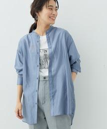 シャツ ブラウス 2WAYスタンドカラーシアーシャツ|ZOZOTOWN PayPayモール店