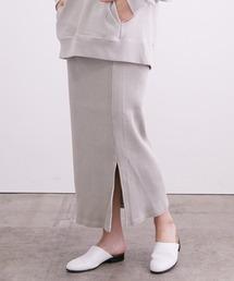 スカート 【セットアップ対応】ヴィンテージライクリブタイトスカート|ZOZOTOWN PayPayモール店