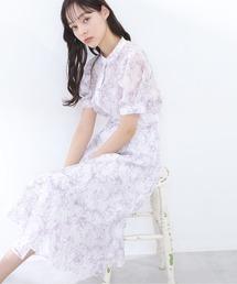 スカート ◇シアーペールマーブルプリントスカート|ZOZOTOWN PayPayモール店