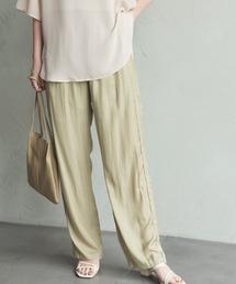 パンツ 【低身長向けSサイズ有】ヴィンテージサテンイージーパンツ / AUNT MARIE'S|ZOZOTOWN PayPayモール店