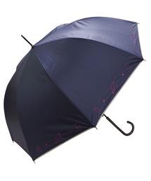 傘 完全遮光晴雨兼用 ジャンプ傘 ねこ刺繍柄 ZOZOTOWN PayPayモール店