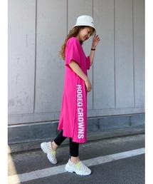 ワンピース レギンス付キTシャツワンピース|ZOZOTOWN PayPayモール店